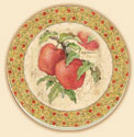 Apples Delectables Coaster Set of 8
