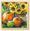 Harvest Sunflower Farm Life Coaster Set of 8