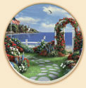 Coastal Dream 2 Pattern Coaster Set of 8
