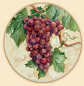 Red Grapes Delectables Coaster Set of 8