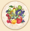Fruit Ring Delectables Coaster Set of 8