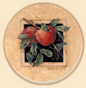 Framed Fruit 4 Delectables Patterns Coaster Set of 8
