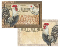 A Maison Rooster Country French Vinyl-Plastic Placemat