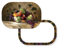 American Bounty - Fruit Placemat Grape-Apple-Pear