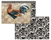 4 Bergerac Rooster Vinyl-Plastic Placemats SALE!!