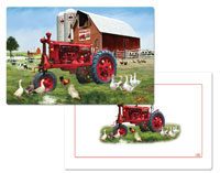 A Barnyard (International Harvester) Placemat Set