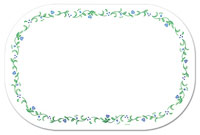 Placemats Set-12- Corelle Country Cottage Dainty Floral
