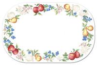 A Corelle Fruit Chutney  Placemats Wipe-clean Vinyl-Plastic