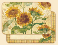 A Placemat Set - Reflections of Sun - Sunflowers