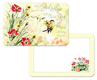 * NEW Natures Grace Inspirational Vinyl Plastic Placemats