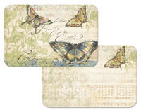 A Butterfly Music-Butterflies Wipe-Clean Placemat Set