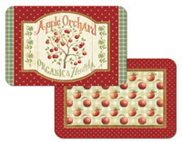 +A Country Apple Vinyl/Plastic Placemat - Appletree+