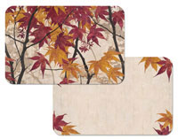 A Leaf Placemat-Maple Story-Wipe-Clean Vinyl/Plastic