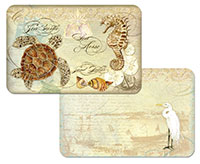 * NEW Coastal Waterways Turtle/Egret Beach Placemat