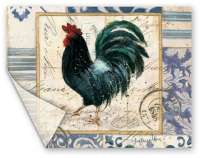 Extra-Heavy 15x11.5 Placemats - French Rooster