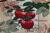 Cloth Fabric 4 Tapestry Placemats - Red Apple