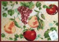 Cloth Fabric 4 Tapestry Placemats-Fruit Bounty
