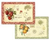 * Apple Orchard se transforme en poires 4 nappes en plastique