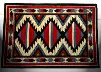 * Cloth Fabric Tapestry 4 Placemats-Southwestern