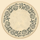 A Rustic Roosters Tempered Glass Lazysusan