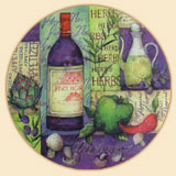 Wine Collage Lazysusan