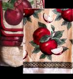 Apple Kitchen Towel 7 pc Set