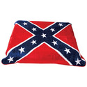 Throw Fleece Blanket - Confederate Flag Print