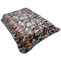 Throw Fleece Blanket - Camo Blanket Pattern
