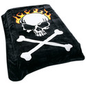 Skull And Cross Bones Blanket