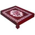 Blanket - Country Flowers Fleece Throw - Red
