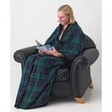 Zippered Edge Fleece Blanket Robe Set - 10 pc set