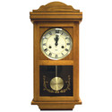 15-Day Oak Wood Wallclock