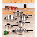 17pc Waterless Cookware Set
