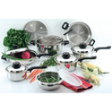 15pc Healthy Stainless Steel Cookware