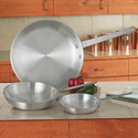3pc  Aluminum Fry Pan Set Cookware