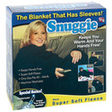 Snuggie Fleece Blanket W/ Booklight